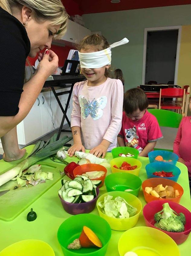 Poznej zeleninu podle chuti a vůně