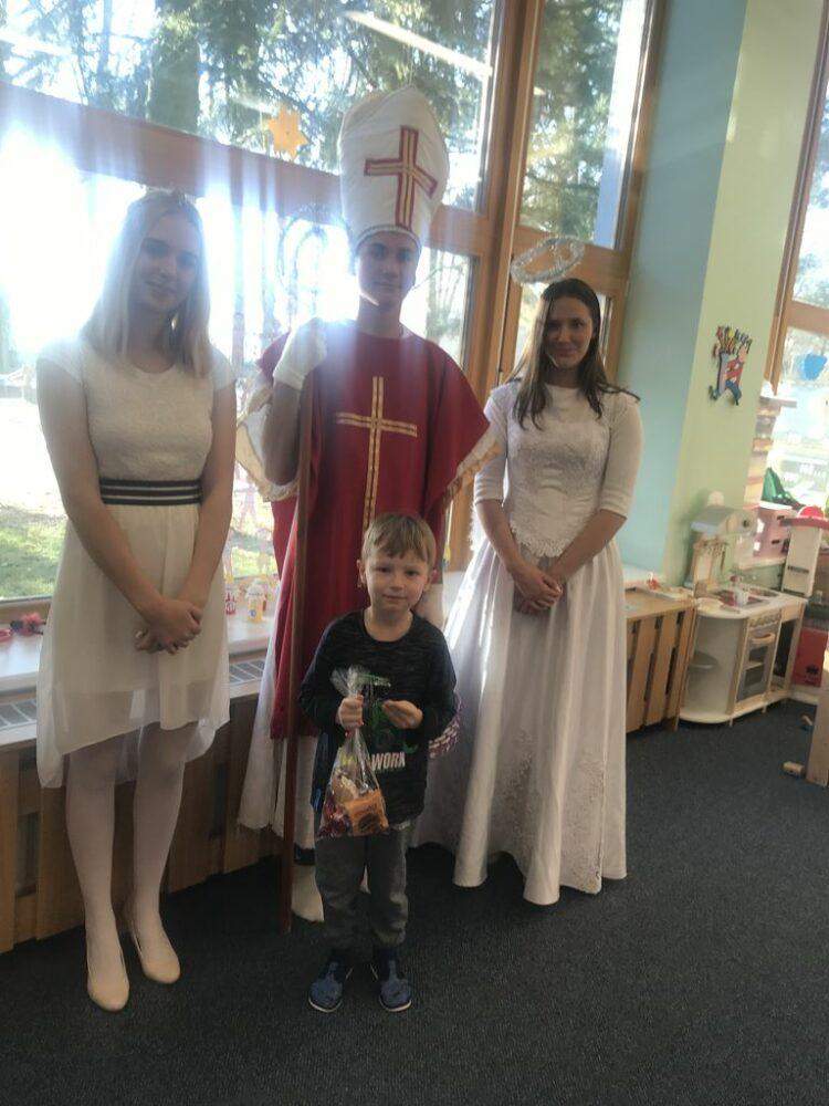 Návštěva Mikuláše a andělů 5. 12. 2018
