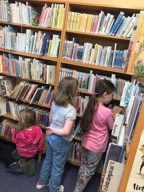 Návštěva knihovny 5. 4. 2019