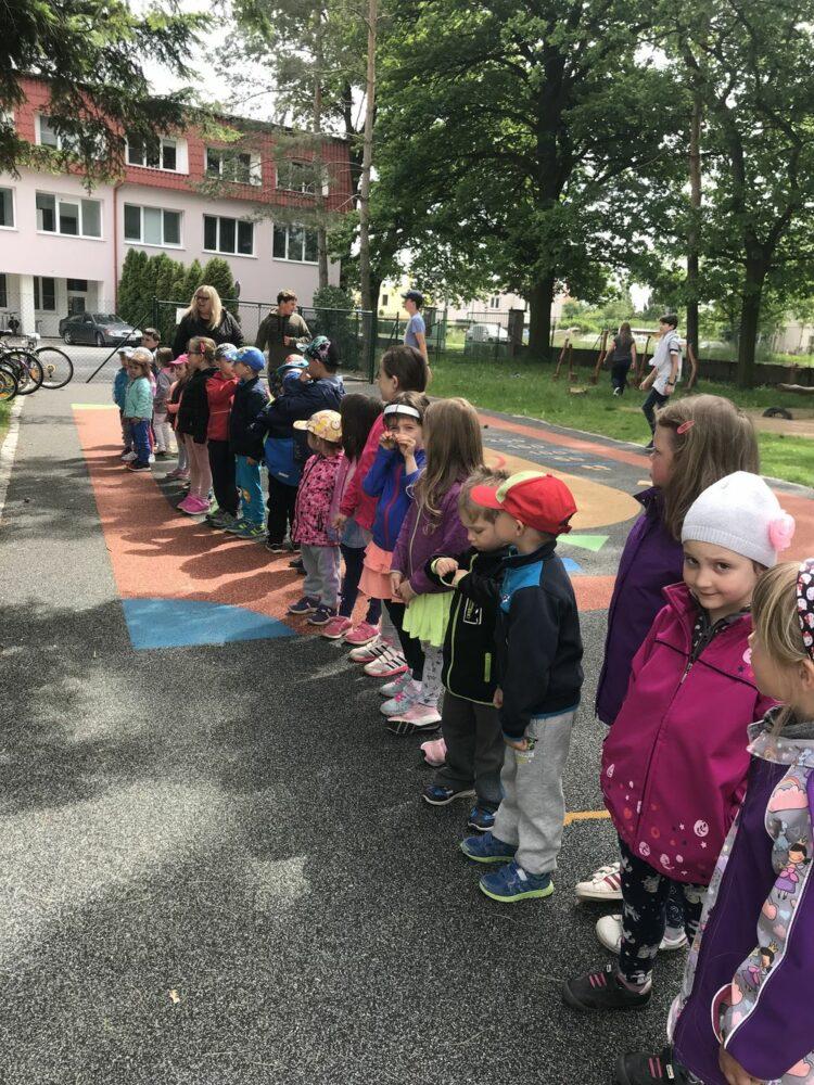 Dětský den organizovaný ZŠ Městec Králové 31. 5. 2019