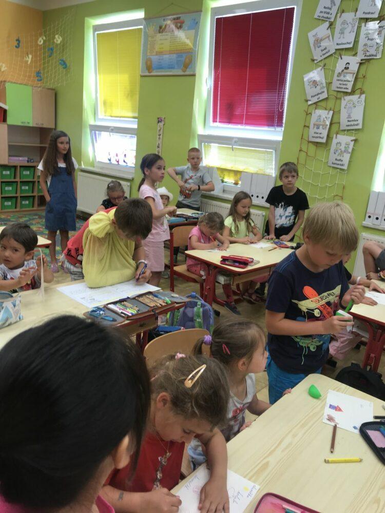 Návštěva 1. a 2. třídy 17. 6. 2019