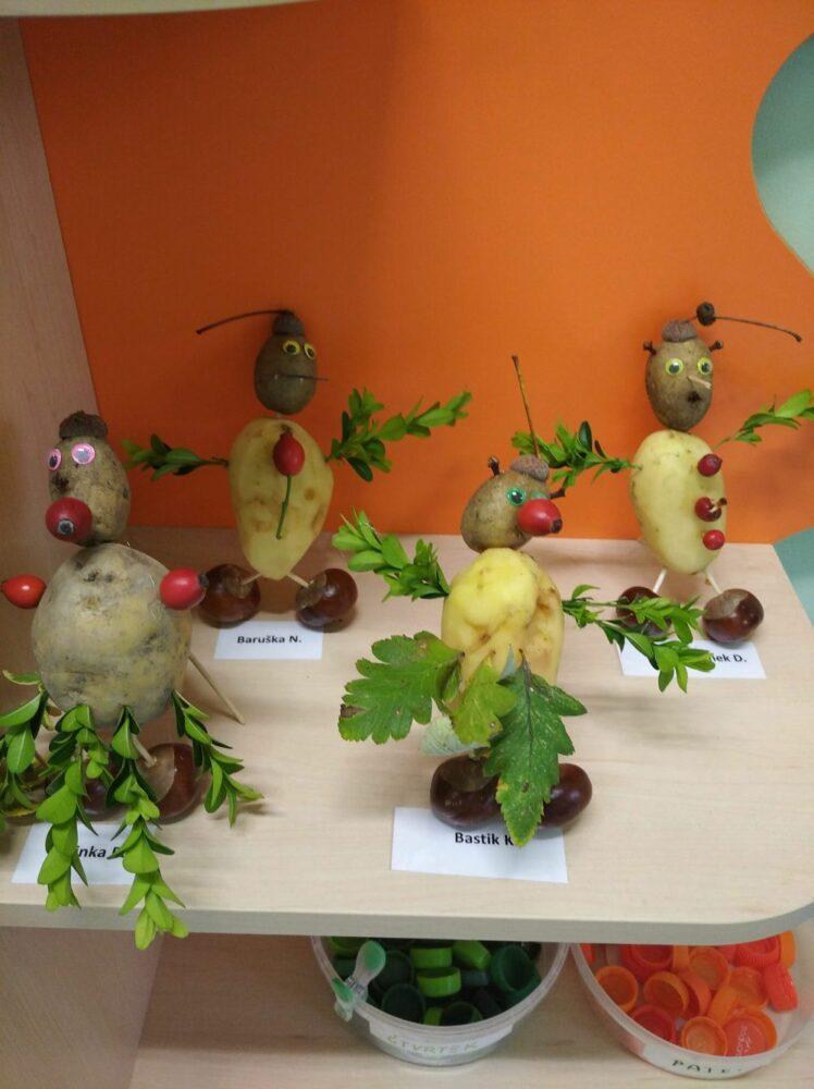 16. 10. 2020 téma zelenina - bramborový den