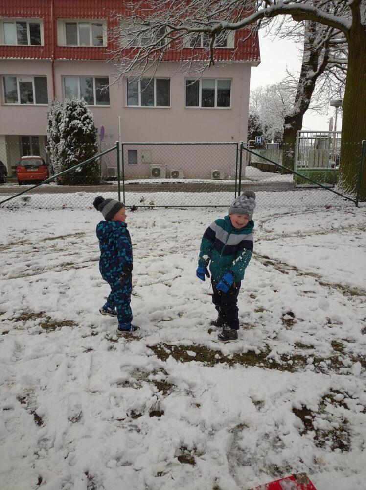 7. 1. 2021 - Hrátky na sněhu
